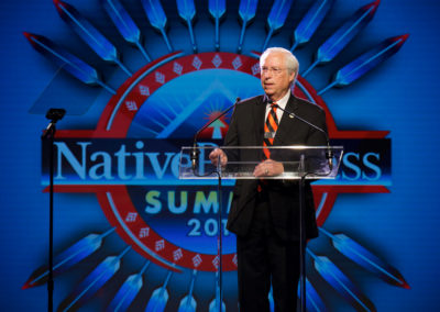 Bill John Baker, Former Principal Chief of the Cherokee Nation and current Executive Chairman, Cherokee Nation Businesses