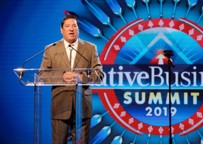 Reggie Wassana, Governor, Cheyenne Morning Welcome and Announcements and Arapaho Tribes
